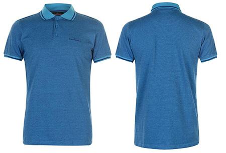 Pierre Cardin heren polo's | Verkrijgbaar in de maten S t/m 4XL Royal blauw