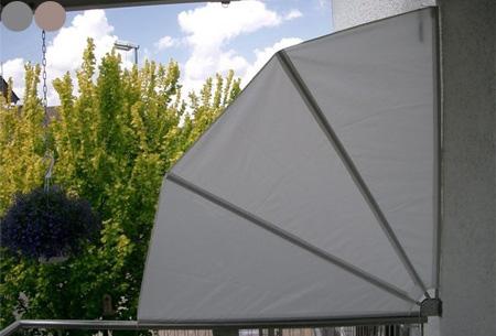 Dagaanbieding: Balkon wind- en zonnescherm met korting