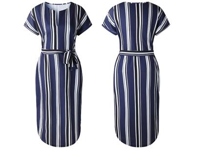Pattern jurk in 7 uitvoeringen | Prachtige jurk met print voor een chique & sophisticated look #1