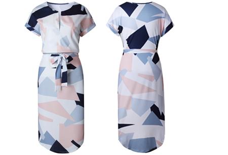 Pattern jurk in 7 uitvoeringen | Prachtige jurk met print voor een chique & sophisticated look #2