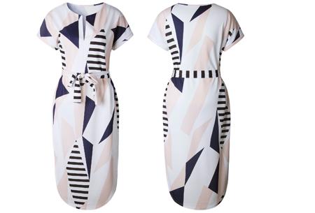 Pattern jurk in 7 uitvoeringen | Prachtige jurk met print voor een chique & sophisticated look #3