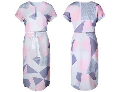 Pattern jurk in 7 uitvoeringen | Prachtige jurk met print voor een chique & sophisticated look #4