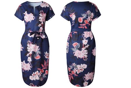 Pattern jurk in 7 uitvoeringen | Prachtige jurk met print voor een chique & sophisticated look #6