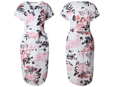 Pattern jurk in 7 uitvoeringen | Prachtige jurk met print voor een chique & sophisticated look #7