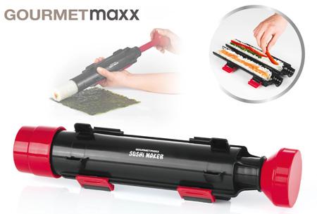 Gourmetmaxx Sushi maker - set van 2 stuks