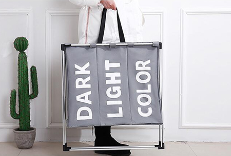 Wasmand organizer | Al je was direct op kleur gesorteerd!