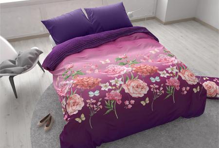 Zensation dekbedovertrekken | Stuntaanbieding - nu 7 uitvoeringen voor een bodemprijs Bright Flower Purple