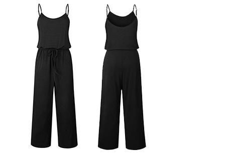 Comfy jumpsuit | Verkrijgbaar in maar liefst 13 verschillende kleuren/prints #1 Zwart