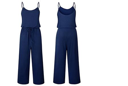 Comfy jumpsuit | Verkrijgbaar in maar liefst 13 verschillende kleuren/prints #2 Navy