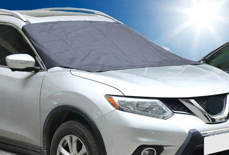 Magnetische zonwerende voorruit cover | Houd de warmte buiten je auto
