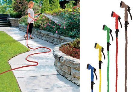 XXL Hose uitrekbare stretch tuinslang | Makkelijk, handig & snel!
