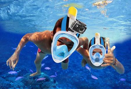 Dagaanbieding: Snorkelmasker voor een bodemprijs