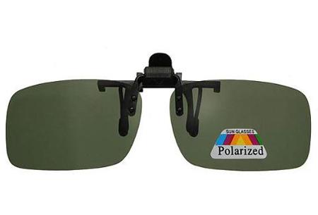 Clip-on zonnebril | Maak van je gewone bril een zonnebril!  groen