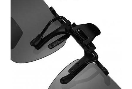 Clip-on zonnebril | Maak van je gewone bril een zonnebril!