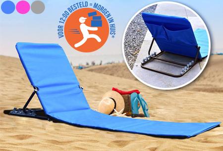 Vouwbare strandmat