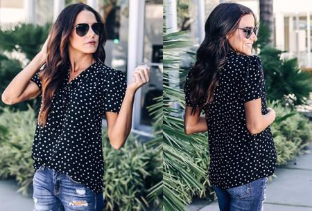 Dots blouse | Een echte must voor in je garderobe