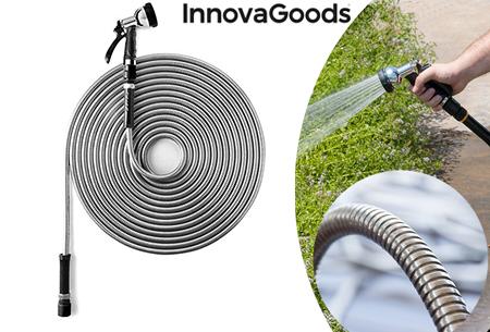 InnovaGoods RVS tuinslang