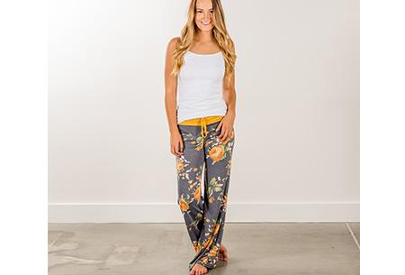 Comfy stretch broek | Verkrijgbaar in maar liefst 12 verschillende prints