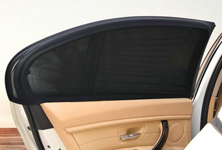 Set van 2 of 4 flexibele autoruit covers   Handig als zonnescherm of voor meer privacy