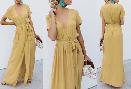 Favorite maxi jurk | Classy en comfortabel in één Geel