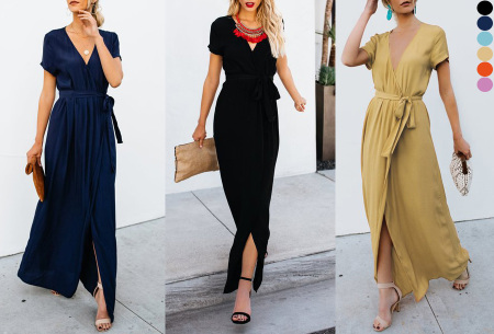 Favorite maxi jurk | Classy en comfortabel in één