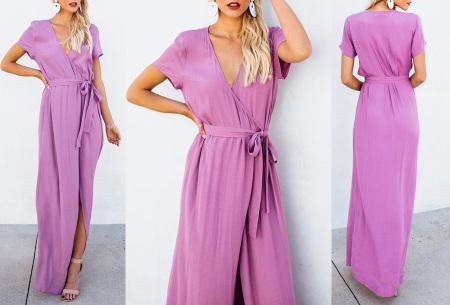 Favorite maxi jurk | Classy en comfortabel in één Violet