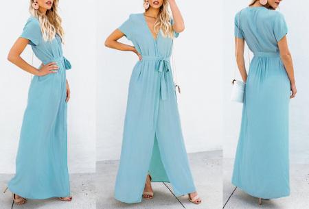 Favorite maxi jurk | Classy en comfortabel in één Sky blauw