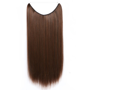 Wire haarextensions # 4A/30B