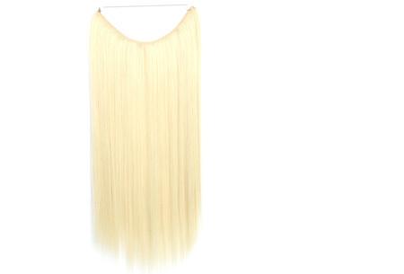 Wire haarextensions | Binnen één minuut lang en vol haar! Keuze uit 20 kleuren # 60/613