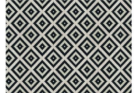 Loft Seven vloerkleden | Voor binnen en buiten gebruik  DIAMOND BLACK