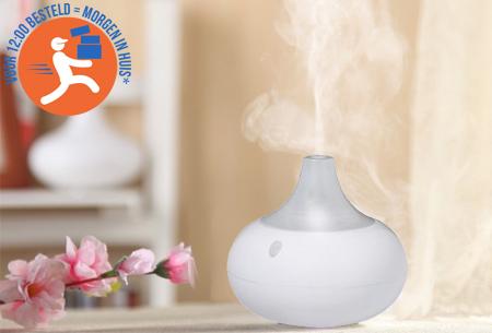 Aroma LED geurverspreider en bevochtiger