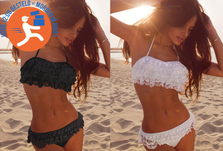 Lace bohemian bikini