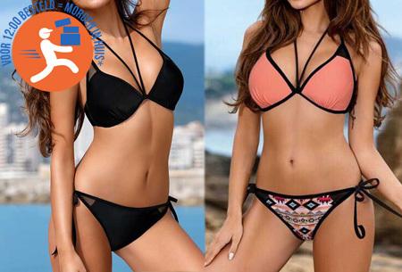 Colorful bikini