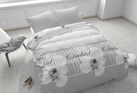 Dekbedovertrekken outlet | Extreem voordelig slapen onder luxe!  Orchidee grey