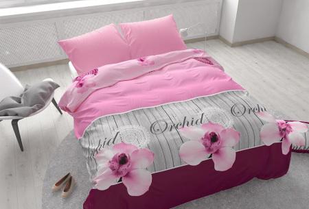 Dekbedovertrekken outlet | Extreem voordelig slapen onder luxe!  Orchidee pink