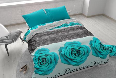 Dekbedovertrekken outlet | Extreem voordelig slapen onder luxe!  Romance turquoise