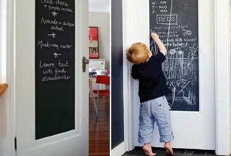 Schoolbord muursticker