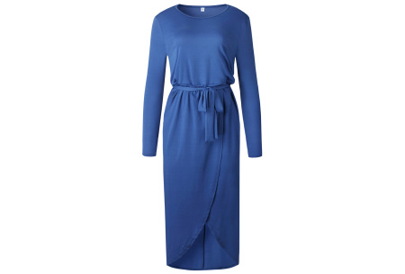 Glorious maxi jurk | Comfortabele musthave Blauw