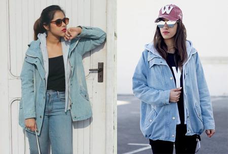 Spijkerjas met binnenjack | Perfecte tussenjas met een fashionable look