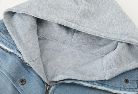 Spijkerjas met binnenjack   Perfecte tussenjas met een fashionable look