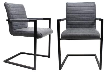 Kubis stoelen | Betaalbaar design voor een moderne en industriële look vintage blauw