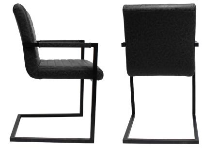 Stoel Metalen Frame : Kubis stoelen modern industrieel design