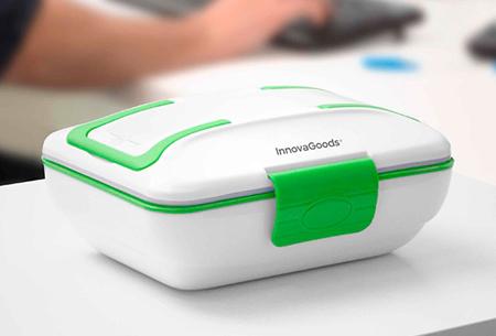 InnovaGoods elektrische lunchboxen | Een warme maaltijd zonder magnetron!