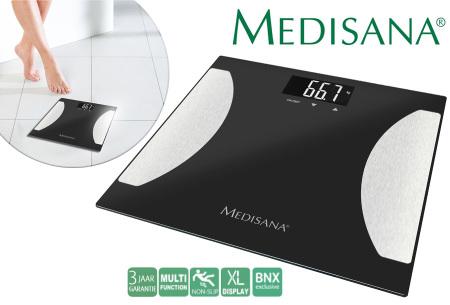 Medisana lichaamsanalyse weegschaal