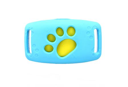 GPS tracker voor kat en hond | Verlies je geliefde huisdier nooit uit het oog  Blauw