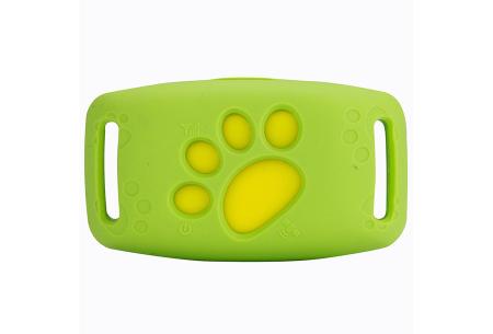 GPS tracker voor kat en hond | Verlies je geliefde huisdier nooit uit het oog  Groen