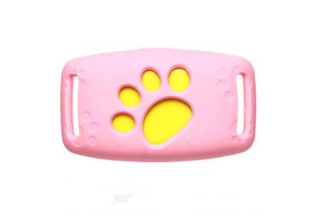 GPS tracker voor kat en hond | Verlies je geliefde huisdier nooit uit het oog  Roze