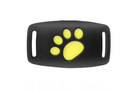 GPS tracker voor kat en hond | Verlies je geliefde huisdier nooit uit het oog  Zwart