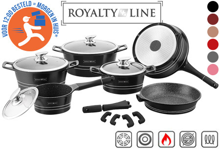 Royalty Line 14-delige pannenset