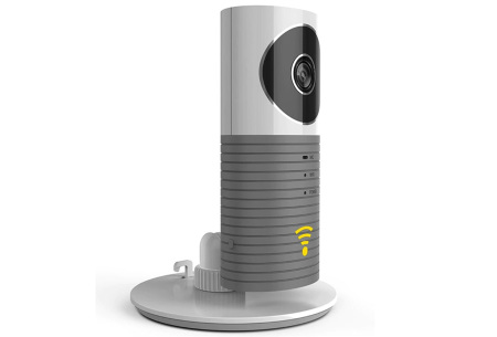 Smart Wifi security camera met night vision | Houd alles in gaten via je telefoon Grijs